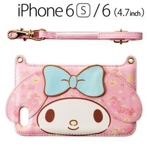 ☆ iDress マイメロディ iPhone6s iPhone6 (4.7インチ) 専用 ダイカットバックカバー フラワー i6S-MM08 bigstar