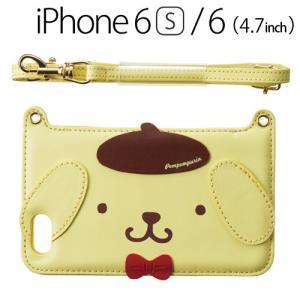 ☆ iDress ポムポムプリン iPhone6s iPhone6 (4.7インチ) 専用 ダイカットバックカバー プリン i6S-PN06|bigstar