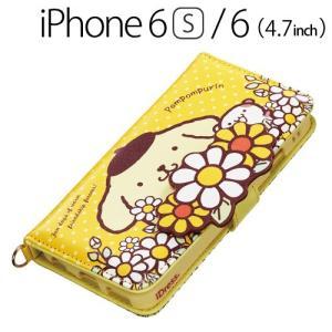 ☆ iDress ポムポムプリン iPhone6s iPhone6 (4.7インチ) 専用 ダイカットカバー かくれんぼ i6S-PN07|bigstar