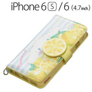 ☆ iDress シナモロール iPhone6s iPhone6 (4.7インチ) 専用 ダイカットカバー かくれんぼ i6S-CN02|bigstar