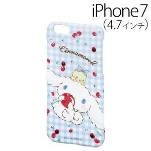 ☆ iDress シナモロール iPhone7 (4.7インチ) 専用 ジュエリーカバー CN チェリー iP7-SA04C(メール便送料無料)|bigstar