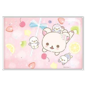 リラックマ コリラックマバケーションテーマ ラメ入りひんやりジェルピロー ソーダ RK-0949|bigstar