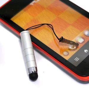 スマートフォン用ミニタッチペン シルバー RX-TPEN06SV bigstar