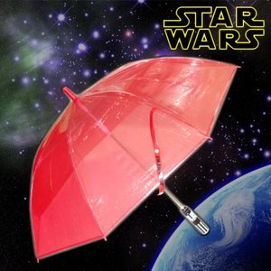 (同梱不可) スターウォーズ(STAR WARS) ライトセイバー傘 レッド SW-056|bigstar