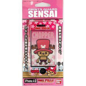 (激安メガセール!)(69-29) ONE PIECE ( ワンピース ) パンソンワークス iPhone4専用 SENSAI 液晶保護シート 02 PWチョッパーi|bigstar