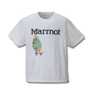 【Marmotマーヴィンマーモット半袖Tシャツ】 アウトドアアクティビティ時に必要な吸水性、速乾性を...