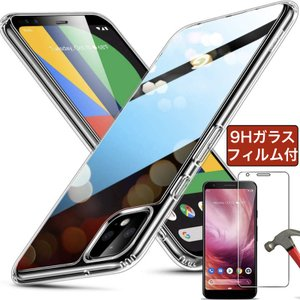強化ガラスフィルム付き ESR Google Pixel 4 4XL 3a ケース 3 3a XL ...