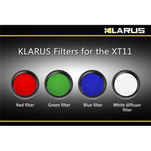 KLARUS(クラルス) XT11用フィルター 赤 〔日本正規品〕