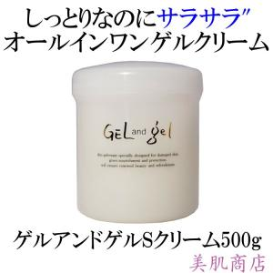 ゲルアンドゲル S クリーム500g《GEL and gel》ヒアルロン酸配合 普通肌 乾燥肌 【送...