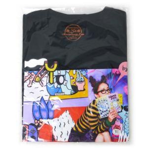 安室奈美恵 25th ANNIVERSARY LIVE/#COMIC geek.Tシャツ(ブラック) 黒(L)◆新品Ss【ゆうパケット非対応/送料680円〜】【即納】 bii-dama