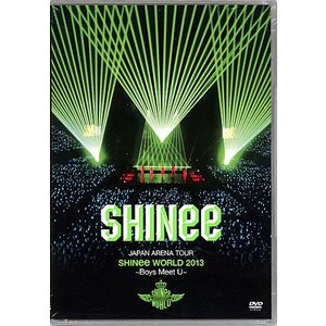 JAPAN ARENA TOUR SHINee WORLD 2013〜Boys Meet U/通常◆新品Ss【ゆうパケット非対応/送料680円〜】【即納】