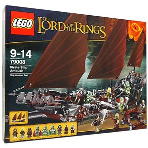 レゴ ロード・オブ・ザ・リング海賊船アンブッシュ79008◆新品Sa|bii-dama