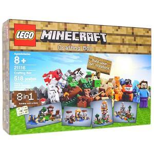 レゴ マインクラフト クラフトボックス21116/並行輸入品◆新品Sa|bii-dama