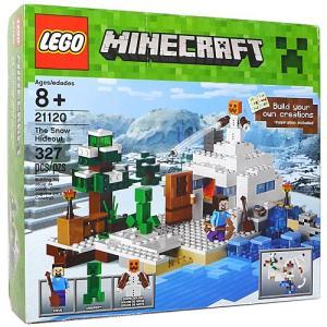 LEGO レゴ マインクラフト 雪の隠れ家 The Snow Hideout 21120/並行輸入品◆新品Sa【即納】|bii-dama