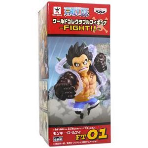 ワンピース ワールドコレクタブルフィギュア FIGHT!! ルフィ◆新品Ss【即納】|bii-dama