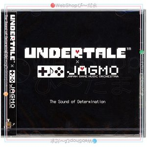 UNDERTALE×JAGMO The sound of Determination 会場限定CD◆...