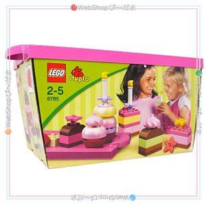 LEGO レゴ デュプロ ピンクのケーキブロックセット 6785/並行輸入品◆新品Ss【即納】|bii-dama