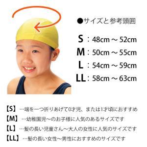 フットマーク 水泳帽 スイムキャップ「ダッシュ...の詳細画像3