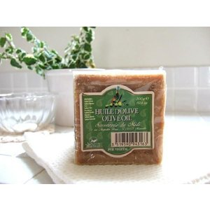 サボンドマルセイユ オリーブ 300g  マルセイユ自然石鹸 あすつく(プレゼント ギフト)(バレンタイン)|bijinsyokunin