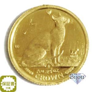 K24 マン島 キャット金貨 コイン 1/25oz 1.24g 1992年 招き猫 純金|bijou-shop