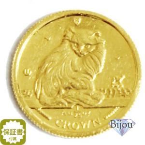 K24 マン島 キャット金貨 コイン 1/25oz 1.24g 1995年 招き猫 純金|bijou-shop