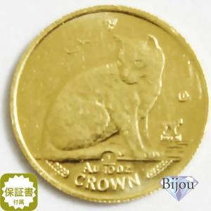 K24 マン島 キャット金貨 コイン1/10oz 3.11g 1990年 招き猫 純金|bijou-shop