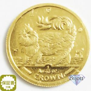 K24 マン島 キャット金貨 コイン1/10oz 3.11g 1993年 招き猫 純金|bijou-shop