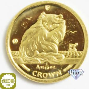 K24 マン島 キャット金貨 コイン1/10oz 3.11g 1995年 招き猫 純金|bijou-shop