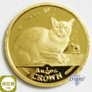 K24 マン島 キャット金貨 コイン 1/10oz 3.11g 1996年 招き猫 純金|bijou-shop
