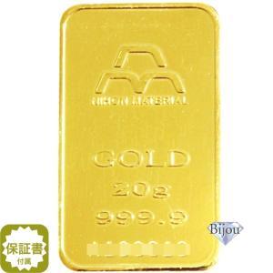 純金 インゴット 20g 日本マテリアル K24 INGOT 公式国際ブランド グッドデリバリー バー ゴールド バー 送料無料