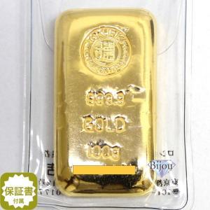 純金 インゴット 徳力 100g K24 TOKURIKI ...