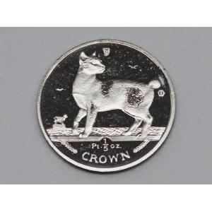 プラチナ PT キャット金貨 コイン 1/5oz 1994年 6.27g 招き猫 金貨 ネコ|bijou-shop