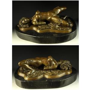 送料無料大人気ブロンズ像 緊縛の裸婦 J.Mavchi大名作インテリア彫刻フィギュア|bijyutuhinn|03