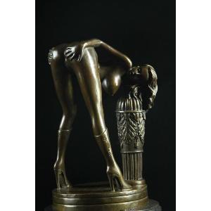 送料無料モダンブロンズ像 裸婦像 シリーズ 名作インテリア彫刻美術品フィギュア