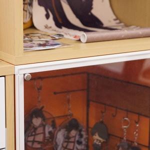 (お得な3個セット) コレクションケース キューブボックスα アクリルふたタイプ   / コレクションラック フィギュアケース bikagu 06