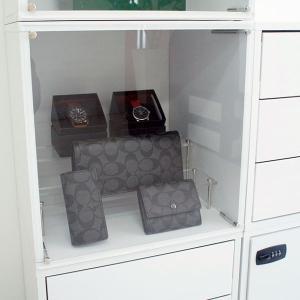 (お得な3個セット) コレクションケース キューブボックスα アクリルふたタイプ   / コレクションラック フィギュアケース bikagu 07