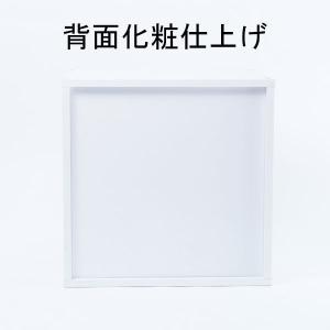 キューブボックスα 3段引き出しタイプ / カラーボックス 引き出し 木製 収納 棚 1段 正方形 安い bikagu 04