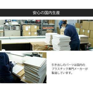 キューブボックスα 3段引き出しタイプ / カラーボックス 引き出し 木製 収納 棚 1段 正方形 安い bikagu 06