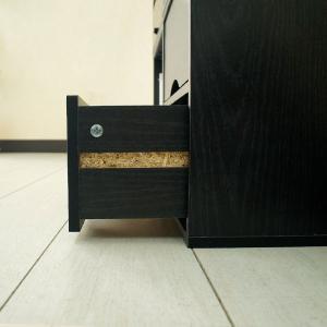 ダイヤル錠なら無くさない キューブボックスα 木製引き出し ダイヤル錠2個タイプ / 鍵付き 収納ボックス 引き出し 2段 小型 おしゃれ|bikagu|07
