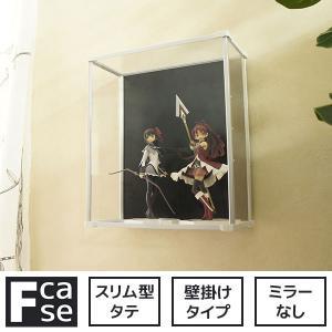 壁に掛けるコレクションケース Fケース 【タテ型・壁掛けタイ...