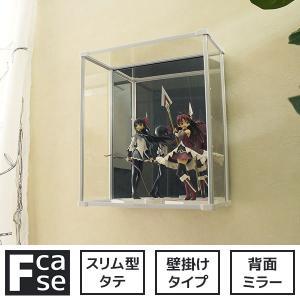 壁掛け コレクションケース Fケース 【タテ型・壁掛けタイプ...