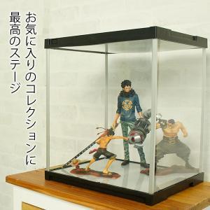 アクリル フィギュアケース J-STAGE ミラー無し / コレクションケース フィギュア 棚 アク...