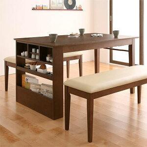 伸縮 ダイニングテーブルセット 3点 (テーブル+ベンチ2脚) / 伸長式 135 170 エクステンションテーブル 大型 激安 安い ruu 1|bikagu