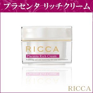 ★送料無料★『RICCA・リッカ』高濃度プラセンタスキンケアシリーズ プラセンタ リッチクリーム 30g (しっとりタイプ)|bikatsu