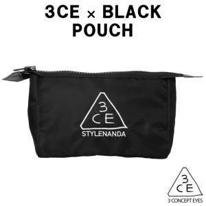 商品名:3CE ポーチ(M)ブラック(BLACK) 素材:ポリエステル(中綿キルティング) サイズ:...