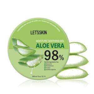 韓国コスメ レッツスキン アロエベラ97.5%モイスチャースージングゲル(1個)ジェル Let's Skin ダーマル DERMAL スキンケア 正規品|bikatsu|03