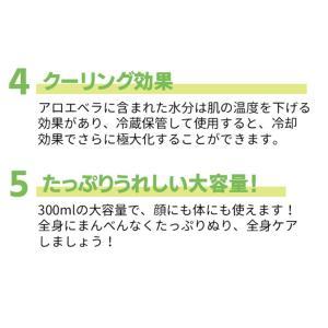 韓国コスメ レッツスキン アロエベラ97.5%モイスチャースージングゲル(1個)ジェル Let's Skin ダーマル DERMAL スキンケア 正規品|bikatsu|05