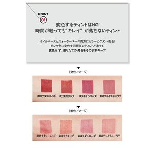 韓国コスメ クリオ マッド マット ティント 2個セット CLIO リップティント メール便 送料無料 bikatsu 05