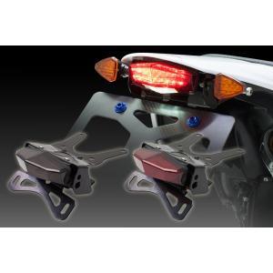 MOTOLED エッジホルダー CRF250L LEDテールブレーキランプ フェンダーレス| D45-18-507 D45-18-707 ダートフレーク 純正ウィンカー対応|bike-briller