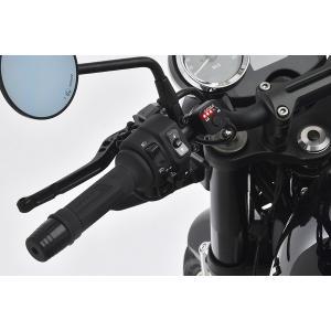 EFFEX バイク用 グリップヒーター EGH012 スイッチ別体型インジゲーター φ22.2用 115/120/130mm  スリム ツーリング防寒 電源|bike-briller